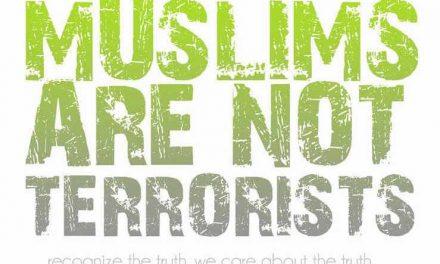 Les Musulmans ne sont pas des terroristes