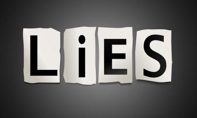 Parmi les plus grands des mensonges