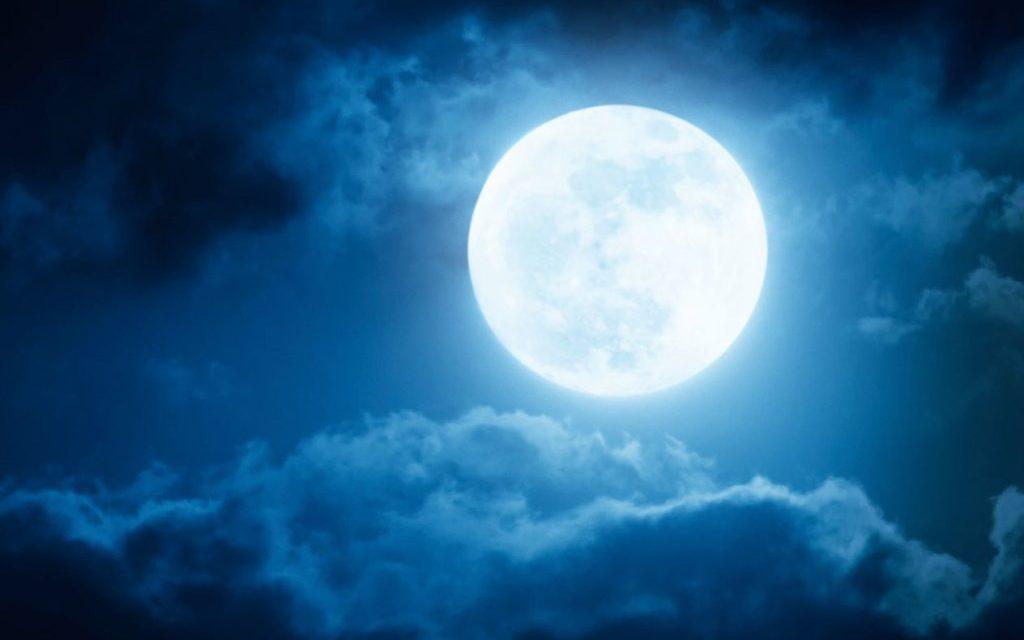 Leurs visages brilleront comme la lune lorsqu'elle est pleine