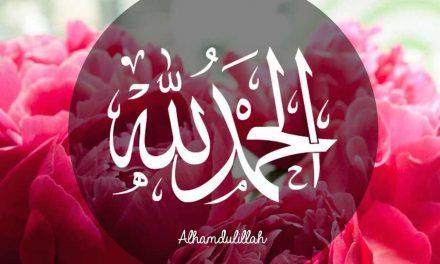 Dire «Alhamdouliilah» après avoir bu ou manger